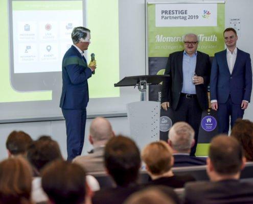 PRESTIGE Partnertag 2019 - Referenten Volker Wissmann und Jonas Feistl