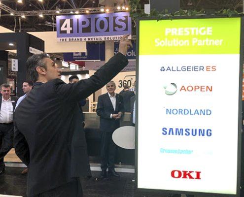 EuroCIS 2019 - PRESTIGE Solution Campus - Partner Samsung erklärt die Lösungen