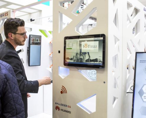 EuroCIS 2019 - PRESTIGE Solution Campus - Partner Allgeier IoT Boxx