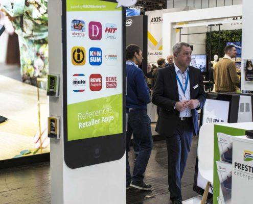 EuroCIS 2019 - PRESTIGE Solution Campus - Mobile Lösungen mit Apps