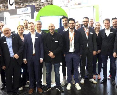 Das Standteam auf der EuroCIS 2019