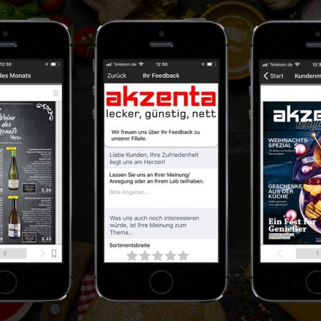 akzenta App - mit dem PRESTIGE AppBaukasten