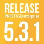 PRESTIGEenterprise Release 5.3.1 Logo