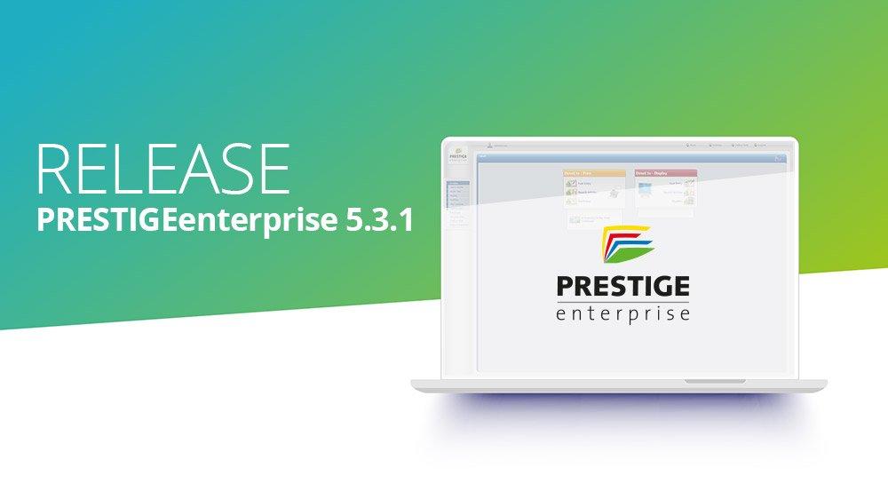 Releasei information PRESTIGEenterprise 5.3.1
