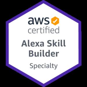 Bestätigte Expertise im Bereich Skills - Offizieller Alexa Skill Builder