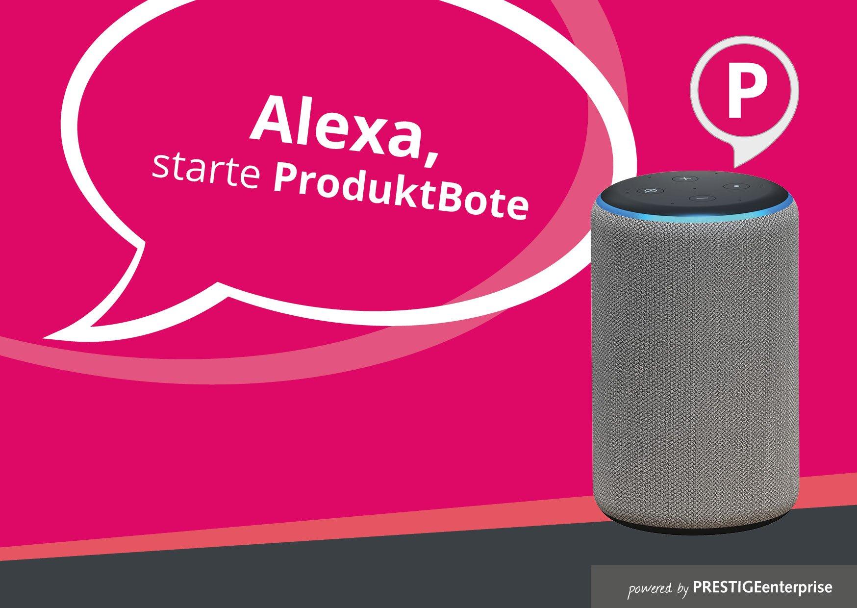 Alexa Skill Produktbote