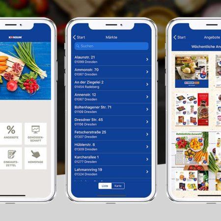 Konsum Dresden App