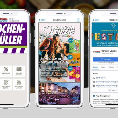 Konsum Leipzig App