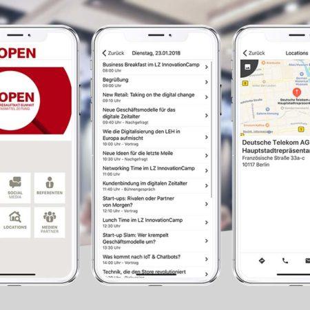 LZ Open App - mit dem PRESTIGE AppBaukasten