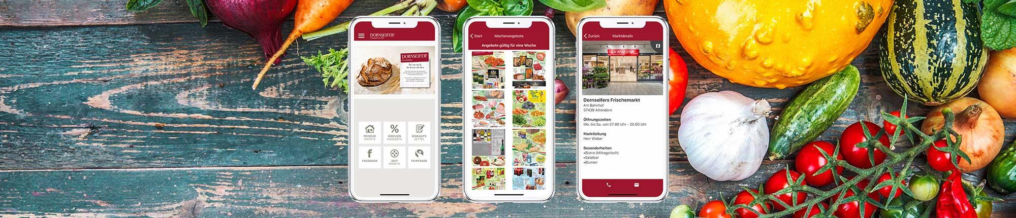 App Screens Dornseifer App