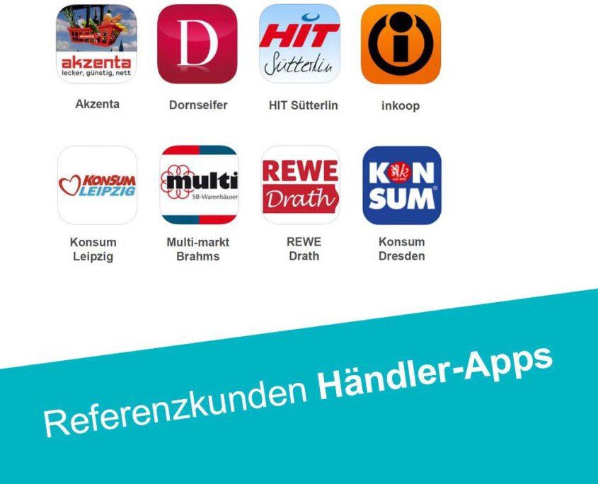 Händler Apps im Überblick - Apps mit dem PRESTIGEenterprise AppBaukasten