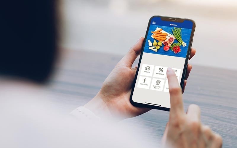 Händler Apps mit dem PRESTIGEenterprise AppBaukasten