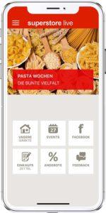 Superstore live, die Demo-App für Händler