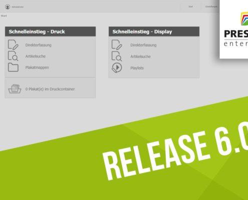 PRESTIGEenterprise 6.0 - Neue Version