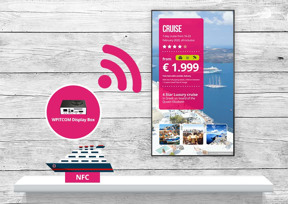EuroShop 2020 - NFC Events am Adam Infopoint