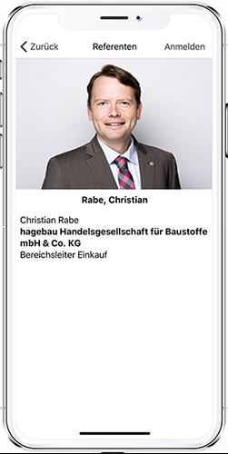 App Hagebau Modul Referenten