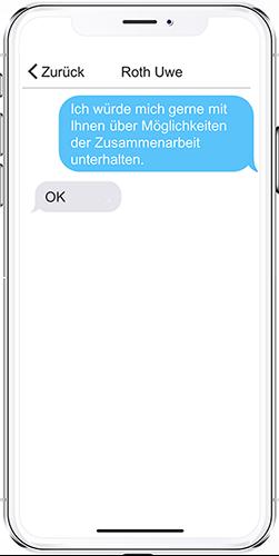 App PRESTIGE Partnertag Chat-Modul
