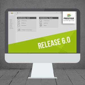 Neues Oberflächendesign PRESTIGEenterprise Release 6.0