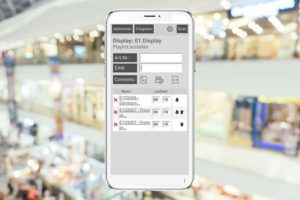 MobileBrowser-Anwendung für Fashion & Lifestyle