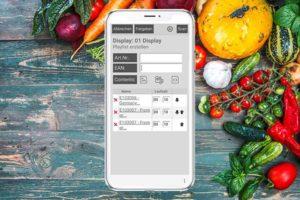 MobileBrowser Anwendung für den Lebensmitteleinzelhandel