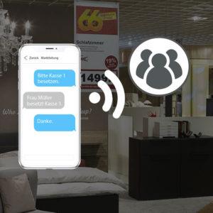 Store Messenger für die Möbelbranche