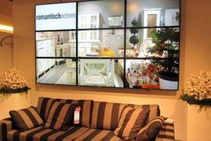 Videowall Möbelhandel